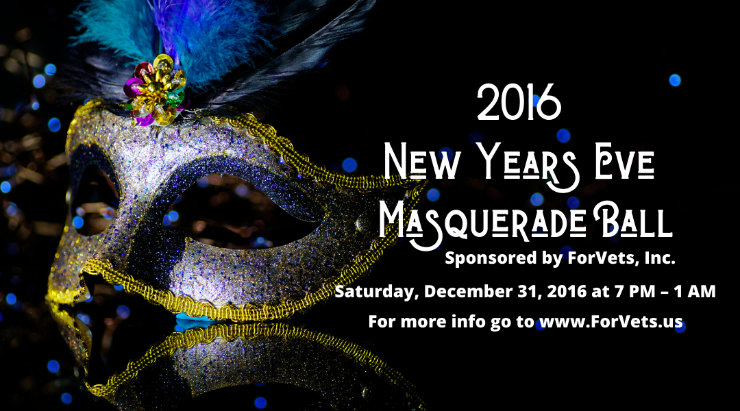 New Years Eve Masquerade Ball 2016