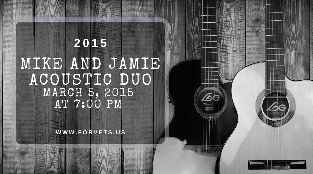 Jamie and Mike Acoustic Duo 2015