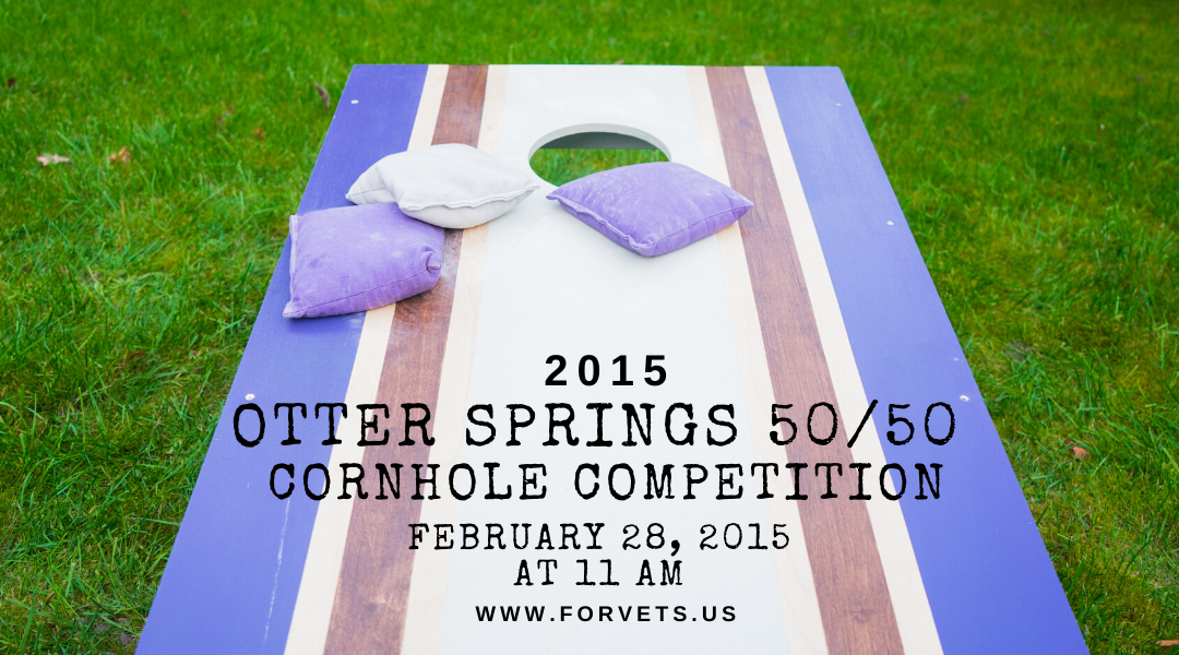 Otter Springs 50/50 Cornhole Competition 2015