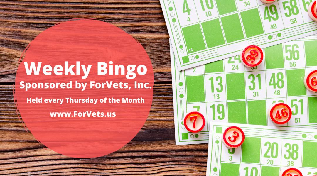 Weekly Bingo