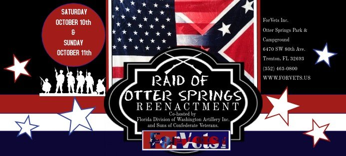 Raid of Otter Springs Reenactment 2020